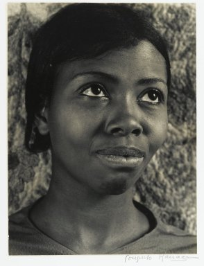 Consuelo Kanaga (American, 1894-1978). <em>Annie Mae Merriweather III</em>. Gelatin silver photograph, 9 1/8 x 6 3/4in. (23.2 x 17.1cm). Brooklyn Museum, Gift of Wallace B. Putnam from the Estate of Consuelo Kanaga, 82.65.388 (Photo: Brooklyn Museum, 82.65.388_PS2.jpg)