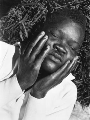 Consuelo Kanaga (American, 1894-1978). <em>Eluard Luchel McDaniel</em>, 1931. Gelatin silver photograph, 7 7/8 x 6 in. (20 x 15.2 cm). Brooklyn Museum, Gift of Wallace B. Putnam from the Estate of Consuelo Kanaga, 82.65.389 (Photo: Brooklyn Museum, 82.65.389_bw_IMLS.jpg)