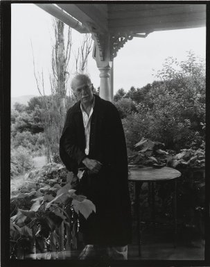 "Consuelo Kanaga (American, 1894-1978). <em>Stieglitz (print ""A"")</em>. Gelatin silver photograph, 5 x 4 in. (12.7 x 10.2 cm). Brooklyn Museum, Gift of Wallace B. Putnam from the Estate of Consuelo Kanaga, 82.65.39 (Photo: Brooklyn Museum, 82.65.39_PS2.jpg)"