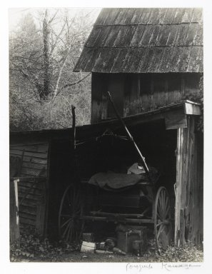 Consuelo Kanaga (American, 1894-1978). <em>Seddie Anderson's Farm (California)</em>, 1920s. Toned gelatin silver photograph, 9 3/4 x 7 in. (24.8 x 17.8 cm). Brooklyn Museum, Gift of Wallace B. Putnam from the Estate of Consuelo Kanaga, 82.65.404 (Photo: Brooklyn Museum, 82.65.404_PS2.jpg)