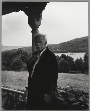 Consuelo Kanaga (American, 1894-1978). <em>[Untitled] (Stieglitz)</em>. Gelatin silver photograph, 8 1/4 x 6 1/2 in. (21 x 16.5 cm). Brooklyn Museum, Gift of Wallace B. Putnam from the Estate of Consuelo Kanaga, 82.65.443 (Photo: Brooklyn Museum, 82.65.443_PS2.jpg)