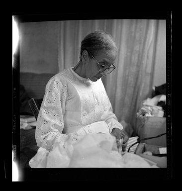 Consuelo Kanaga (American, 1894-1978). <em>[Untitled]</em>. Negative, 2 1/4 x 2 1/4 in. (5.7 x 5.7 cm). Brooklyn Museum, Gift of Wallace B. Putnam from the Estate of Consuelo Kanaga, 82.65.597 (Photo: Brooklyn Museum, 82.65.597.jpg)