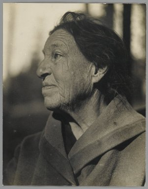 Consuelo Kanaga (American, 1894-1978). <em>Seddie Anderson</em>, ca. 1920s. Gelatin silver photograph, 9 x 7 1/8 in. (22.9 x 18.1 cm). Brooklyn Museum, Gift of Wallace B. Putnam from the Estate of Consuelo Kanaga, 82.65.5 (Photo: Brooklyn Museum, 82.65.5_PS2.jpg)