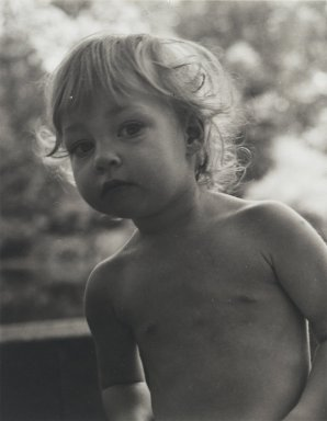 Consuelo Kanaga (American, 1894-1978). <em>[Untitled] (Maggie Gaus)</em>. Gelatin silver photograph, 4 7/8 x 3 3/4 in. (12.4 x 9.5 cm). Brooklyn Museum, Gift of Wallace B. Putnam from the Estate of Consuelo Kanaga, 82.65.64 (Photo: Brooklyn Museum, 82.65.64_PS2.jpg)