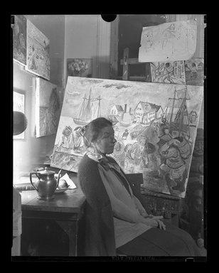 Consuelo Kanaga (American, 1894-1978). <em>[Untitled]</em>. Negative, 4 x 5 in. (10.2 x 12.7 cm). Brooklyn Museum, Gift of Wallace B. Putnam from the Estate of Consuelo Kanaga, 82.65.866 (Photo: Brooklyn Museum, 82.65.866.jpg)