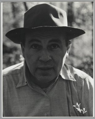 Consuelo Kanaga (American, 1894-1978). <em>[Untitled] (Abe Birnbaum)</em>. Gelatin silver photograph, 9 7/8 x 7 7/8 in. (25.1 x 20 cm). Brooklyn Museum, Gift of Wallace B. Putnam from the Estate of Consuelo Kanaga, 82.65.8 (Photo: Brooklyn Museum, 82.65.8_PS2.jpg)