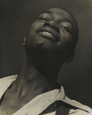 Consuelo Kanaga (American, 1894-1978). <em>[Untitled] (Kenneth Spenser)</em>. Gelatin silver photograph, 9 7/8 x 7 3/4 in. (25.1 x 19.7 cm). Brooklyn Museum, Gift of Wallace B. Putnam from the Estate of Consuelo Kanaga, 82.65.96 (Photo: Brooklyn Museum, 82.65.96_PS2_edited.jpg)