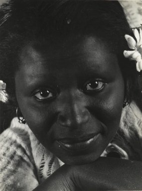 Consuelo Kanaga (American, 1894-1978). <em>[Untitled] (Francis)</em>. Gelatin silver photograph, 4 3/8 x 3 1/4 in. (11.1 x 8.3 cm). Brooklyn Museum, Gift of Wallace B. Putnam from the Estate of Consuelo Kanaga, 82.65.97 (Photo: Brooklyn Museum, 82.65.97_PS2.jpg)