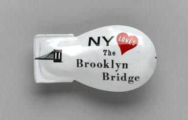 Unknown. <em>Snapper</em>, 1983. Metal, 1/2 in. (1.3 cm). Brooklyn Museum, Ella C. Woodward Memorial Fund, 83.126.8. Creative Commons-BY (Photo: Brooklyn Museum, 83.126.8_PS2.jpg)