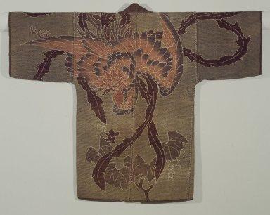 <em>Fireman's Coat</em>, ca.1880. Cotton fabric, 37 x 46 in. (94 x 116.8 cm). Brooklyn Museum, Frank L. Babbott Fund, 83.196 (Photo: Brooklyn Museum, 83.196.jpg)