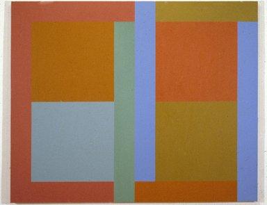 Doug Ohlson (American, 1936-2010). <em>Ice Blue</em>, 1981. Oil and acrylic on canvas, 68 1/8 x 84 in. (173 x 213.4 cm). Brooklyn Museum, Gift of Mr. and Mrs. Daniel Polett, 83.257. © artist or artist's estate (Photo: Brooklyn Museum, 83.257_slide_SL3.jpg)