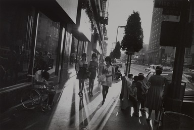 Garry Winogrand (American, 1928-1984). <em>Los Angeles, California</em>, 1969; reprinted 1974. Gelatin silver photograph, Other (Mount): 14 3/4 x 19 3/4 in. (37.5 x 50.2 cm). Brooklyn Museum, Gift of Renata Shapiro, 83.266.11. © artist or artist's estate (Photo: , 83.266.11_PS9.jpg)