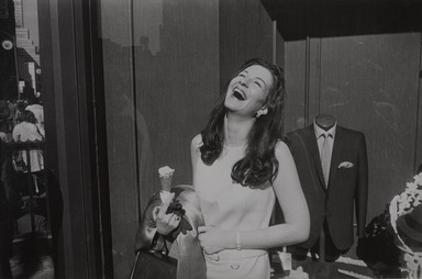 Garry Winogrand (American, 1928-1984). <em>New York City, New York</em>, 1968. Gelatin silver photograph, printed 1974, Other (Mount): 14 3/4 x 19 3/4 in. (37.5 x 50.2 cm). Brooklyn Museum, Gift of Renata Shapiro, 83.266.13. © artist or artist's estate (Photo: , 83.266.13_PS9.jpg)