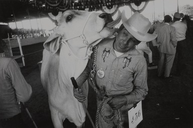 Garry Winogrand (American, 1928-1984). <em>Texas State Fair-Dallas, Texas</em>, 1964; reprinted 1974. Gelatin silver photograph, Other (Mount): 14 3/4 x 19 3/4 in. (37.5 x 50.2 cm). Brooklyn Museum, Gift of Renata Shapiro, 83.266.4. © artist or artist's estate (Photo: , 83.266.4_PS9.jpg)