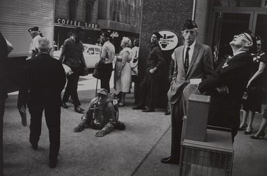 Garry Winogrand (American, 1928-1984). <em>American Legion Convention-Dallas, Texas</em>, 1964; reprinted 1974. Gelatin silver photograph, Other (Mount): 14 3/4 x 19 3/4 in. (37.5 x 50.2 cm). Brooklyn Museum, Gift of Renata Shapiro, 83.266.9. © artist or artist's estate (Photo: , 83.266.9_PS9.jpg)