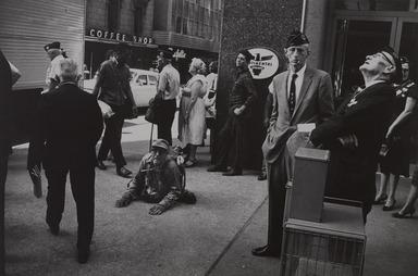 Garry Winogrand (American, 1928-1984). <em>American Legion Convention-Dallas, Texas</em>, 1964; reprinted 1974. Gelatin silver photograph, Other (Mount): 14 3/4 x 19 3/4 in. (37.5 x 50.2 cm). Brooklyn Museum, Gift of Renata Shapiro, 83.266.9. © artist or artist's estate (Photo: , 83.266.9_PS9.jpg)