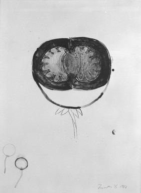Terry Winters (American, born 1949). <em>Ova</em>, 1982. Lithograph Brooklyn Museum, Designated Purchase Fund, 83.82. © artist or artist's estate (Photo: Brooklyn Museum, 83.82_bw.jpg)