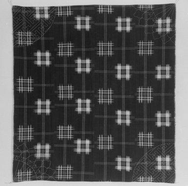 <em>Furoshiki</em>, 20th century. Cotton Cloth, 56 x 53 in. (142.2 x 134.6 cm). Brooklyn Museum, Gift of Dr. John P. Lyden, 84.139.3 (Photo: Brooklyn Museum, 84.139.3_bw.jpg)