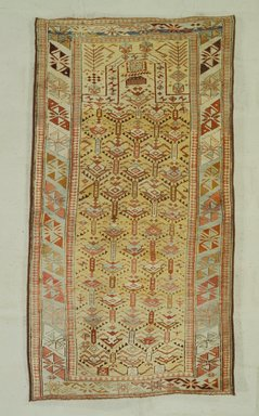 <em>Prayer Rug</em>, 19th century. Wool, 61 1/4 x 33 3/4 in. (155.6 x 85.7 cm). Brooklyn Museum, Bequest of Mrs. Joseph V. McMullan, gift of the Beaupre Charitable Trust in memory of Joseph V. McMullan, 84.140.11. Creative Commons-BY (Photo: Brooklyn Museum, 84.140.11.jpg)