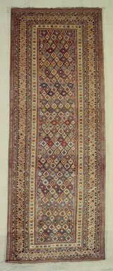 <em>Chichi Type Carpet</em>, 19th century. Wool, 152 x 61 in. (386.1 x 154.9 cm). Brooklyn Museum, Bequest of Mrs. Joseph V. McMullan, gift of the Beaupre Charitable Trust in memory of Joseph V. McMullan, 84.140.13. Creative Commons-BY (Photo: Brooklyn Museum, 84.140.13.jpg)