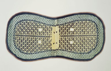 <em>Saddle Rug</em>, late 19th century. Cotton and wool, 53 x 27 in. (134.6 x 68.6 cm). Brooklyn Museum, Bequest of Mrs. Joseph V. McMullan, gift of the Beaupre Charitable Trust in memory of Joseph V. McMullan, 84.140.19. Creative Commons-BY (Photo: Brooklyn Museum, 84.140.19.jpg)