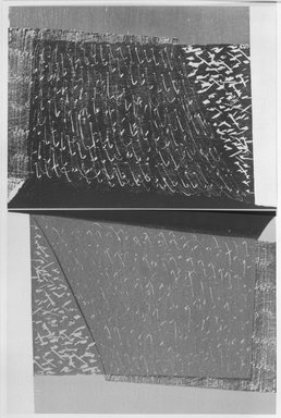 Susan Crile (American, born 1942). <em>Renvers on Two Tracks</em>, 1982. Woodcut Brooklyn Museum, Gift of Joseph S. Murphy, 84.159. © artist or artist's estate (Photo: Brooklyn Museum, 84.159_bw.jpg)