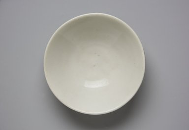 <em>Bowl</em>, 8th-9th century. Porcelain (or high-fired stoneware), 1 7/8 x 5 7/8 in. (4.8 x 14.9 cm). Brooklyn Museum, Gift of Dr. Ralph C. Marcove, 84.198.18. Creative Commons-BY (Photo: Brooklyn Museum, 84.198.18_top_PS11.jpg)