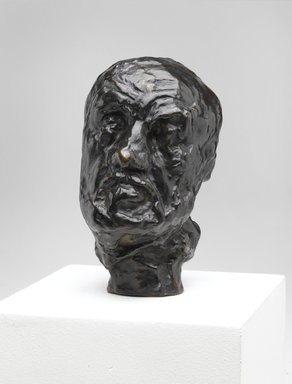 Auguste Rodin (French, 1840-1917). <em>Man with the Broken Nose, Reduction (L'Homme au nez cassé, réduction)</em>, before 1889; cast 1960. Bronze, 5 × 3 × 4 in., 1.5 lb. (12.7 × 7.6 × 10.2 cm). Brooklyn Museum, Gift of the Iris and B. Gerald Cantor Foundation, 84.210.4. Creative Commons-BY (Photo: Brooklyn Museum, 84.210.4_PS2.jpg)