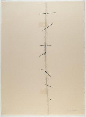 Agustin Fernandez (Cuban, 1928-2006). <em>Untitled</em>, 1973. Graphite and wash on paper, 30 x 22 in. (76.2 x 55.9 cm). Brooklyn Museum, Gift of Joseph Novak, 84.234.1. © artist or artist's estate (Photo: Brooklyn Museum, 84.234.1_PS6.jpg)