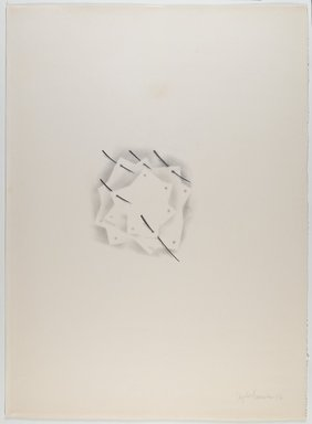 Agustin Fernandez (Cuban, 1928-2006). <em>Untitled</em>, 1973. Graphite on paper, 30 x 22 in. (76.2 x 55.9 cm). Brooklyn Museum, Gift of Joseph Novak, 84.234.2. © artist or artist's estate (Photo: Brooklyn Museum, 84.234.2_PS6.jpg)