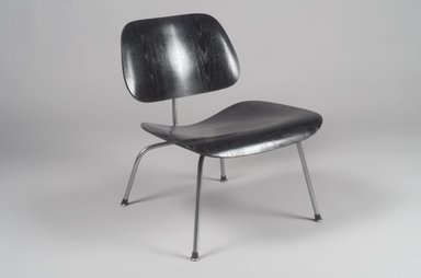 Charles Eames (American, 1907-1978). <em>Lounge Chair</em>, ca. 1946. Plywood, steel, 26 x 21 5/8 x 25 1/8 in. (66 x 54.9 x 63.8 cm). Brooklyn Museum, Gift of Barry Friedman, 84.275.4. Creative Commons-BY (Photo: Brooklyn Museum, 84.275.4.jpg)