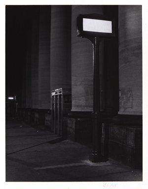 Irwin Silver (American, born 1945). <em>Municipal Building, Brooklyn New York, September 26, 1981</em>, 1981. Gelatin silver photograph., image: 7 15/16 × 6 1/8 in. (20.1 × 15.6 cm). Brooklyn Museum, Gift of the artist, 84.44.3. © artist or artist's estate (Photo: , 84.44.3_PS11.jpg)