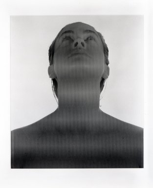 Ellen Carey (American, born 1952). <em>Untitled</em>, 1984. Dye diffusion photograph, image: 24 x 20 7/8 in. (61 x 53 cm). Brooklyn Museum, Gift of the artist, 85.180. © artist or artist's estate (Photo: Brooklyn Museum, 85.180_bw.jpg)