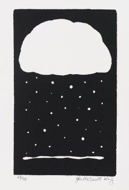 John McDevitt King (American, born 1954). <em>Season</em>, 1984. Screenprint, Sheet: 11 3/4 x 9 in. (29.9 x 22.8 cm). Brooklyn Museum, Gift of Strother Ellwood Editions and the artist, 85.26. © artist or artist's estate (Photo: Brooklyn Museum, 85.26_PS4.jpg)