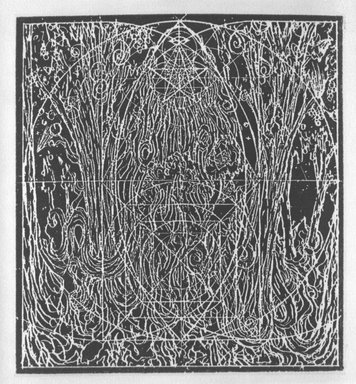 Alan Saret (American, born 1944). <em>[Untitled]</em>, 1983. Etching on paper, sheet: 10 1/2 x 9 1/4 in. (26.7 x 23.5 cm). Brooklyn Museum, Purchased with funds given by the Louis Comfort Tiffany Foundation, 85.41.3. © artist or artist's estate (Photo: Brooklyn Museum, 85.41.3_bw.jpg)
