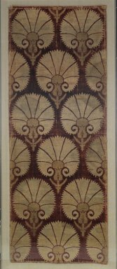 <em>Velvet Panel</em>, 17th century. Cut velvet, silk and silver, 55 x 23in. (139.7 x 58.4cm). Brooklyn Museum, Gift of the Ernest Erickson Foundation, Inc., 86.227.108. Creative Commons-BY (Photo: Brooklyn Museum, 86.227.108_PS2.jpg)