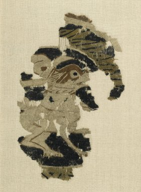 <em>Textile Fragment: A Hare</em>, 868-905. Wool and linen wefts, linen warps, tapestry-woven, 18 x 11in. (45.7 x 27.9cm). Brooklyn Museum, Gift of the Ernest Erickson Foundation, Inc., 86.227.97. Creative Commons-BY (Photo: Brooklyn Museum, 86.227.97_PS1.jpg)