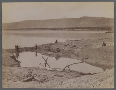 <em>View from Site in Northern Africa or Syria</em>, 19th century. Albumen silver photograph, 8 1/2 x 11 in. (21.6 x 28 cm). Brooklyn Museum, Gift of Samuel Kirschenbaum, 86.265.11 (Photo: Brooklyn Museum, 86.265.11_IMLS_PS3.jpg)