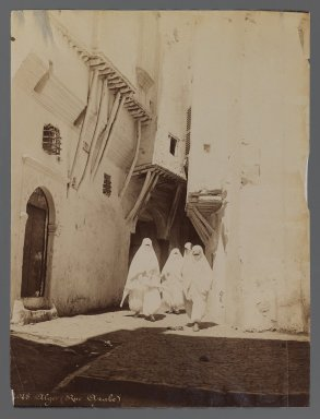 <em>View from Site in Northern Africa or Syria</em>, 19th century. Albumen silver photograph, 10 1/8 x 7 5/8 in. (25.7 x 19.4 cm). Brooklyn Museum, Gift of Samuel Kirschenbaum, 86.265.2 (Photo: Brooklyn Museum, 86.265.2_IMLS_PS3.jpg)