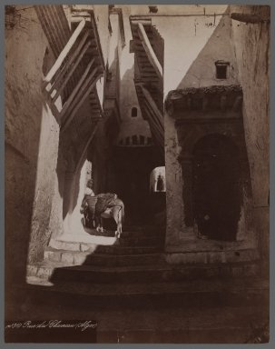 <em>View from Site in Northern Africa or Syria</em>, 19th century. Albumen silver photograph, 10 1/2 x 8 1/8 in. (26.7 x 20.6 cm). Brooklyn Museum, Gift of Samuel Kirschenbaum, 86.265.6 (Photo: Brooklyn Museum, 86.265.6_IMLS_PS3.jpg)