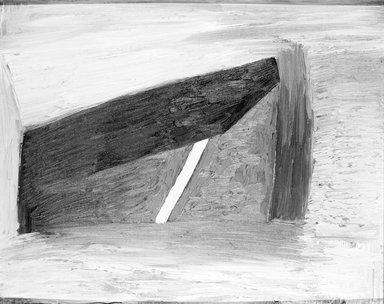 Thomas Nozkowski (American, 1944-2019). <em>Untitled (3-83)</em>, 1979. Oil on canvas board, frame: 22 x 26 in. (55.9 x 66 cm). Brooklyn Museum, Gift of Dr. and Mrs. Aaron H. Esman, 86.278.2. © artist or artist's estate (Photo: Brooklyn Museum, 86.278.2_bw.jpg)