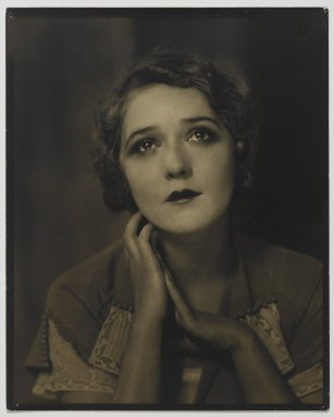 Edward Steichen (American, born Luxembourg, 1879-1973). <em>Mary Pickford, March, 1924</em>. Vintage silver print Brooklyn Museum, Anonymous gift in memory of Thelma and Ralph Zogg, 86.306.2. © artist or artist's estate (Photo: Brooklyn Museum, 86.306.2_PS2.jpg)