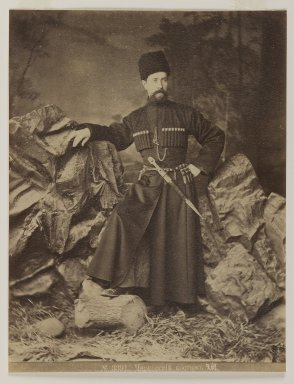 <em>[Untitled]</em>, 19th century. Albumen silver photograph, 13 9/16 x 10 1/2 in. (34.4 x 26.7 cm). Brooklyn Museum, Special Middle Eastern Art Fund, 86.86.15 (Photo: Brooklyn Museum, 86.86.15_IMLS_PS3.jpg)