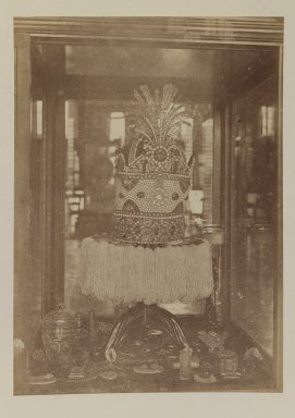<em>[Untitled]</em>, 19th century. Albumen silver photograph, 8 7/8 x 6 5/16 in. (22.5 x 16 cm). Brooklyn Museum, Special Middle Eastern Art Fund, 86.86.4 (Photo: Brooklyn Museum, 86.86.4_IMLS_PS3.jpg)