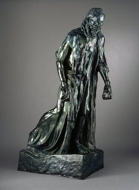 Auguste Rodin (French, 1840-1917). <em>Eustache de Saint-Pierre, Monumental (Eustache de Saint-Pierre, monumental)</em>, ca. 1886-1887. Bronze, 85 × 30 × 48 in., 1173 lb. (215.9 × 76.2 × 121.9 cm). Brooklyn Museum, Gift of Iris and B. Gerald Cantor, 87.106.2. Creative Commons-BY (Photo: Brooklyn Museum, 87.106.2_view1_SL1.jpg)
