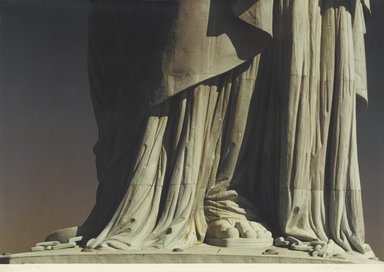 Ruffin Cooper (American, 1942-1992). <em>Foot (Statue of Liberty)</em>, 1979. Chromogenic photograph, image: 32 3/4 x 48 1/16 in. (83.2 x 122 cm). Brooklyn Museum, Gift of the artist, 87.149.2 (Photo: Brooklyn Museum, 87.149.2_PS1.jpg)