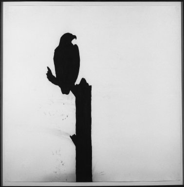 Randy Twaddle (American, born 1957). <em>The Changing Nature of Worship</em>, 1987. Charcoal on paper, 55 1/4 x 165 3/4 in. (140.3 x 421 cm). Brooklyn Museum, Anonymous gift, 87.205.10a-c. © artist or artist's estate (Photo: Brooklyn Museum, 87.205.10a_bw.jpg)