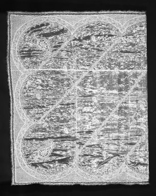 <em>Odhni (Bridal Veil)</em>, 1925-1930. Gold-wrapped silk gauze, 64 x 100 in. (162.6 x 254 cm). Brooklyn Museum, 88.25. Creative Commons-BY (Photo: Brooklyn Museum, 88.25_bw.jpg)