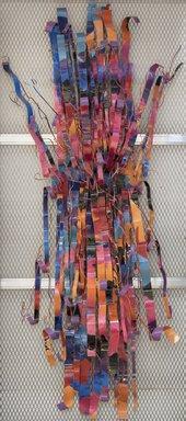 Dorothy Gillespie (American, 1920-2012). <em>Rain Dance Number 10</em>, 1988. Aluminum with enamel, 111 × 45 × 35 in. (281.9 × 114.3 × 88.9 cm). Brooklyn Museum, Gift of Mr. and Mrs. Dennis L. Helliwell, 88.30. © artist or artist's estate (Photo: , 88.30_PS11.jpg)