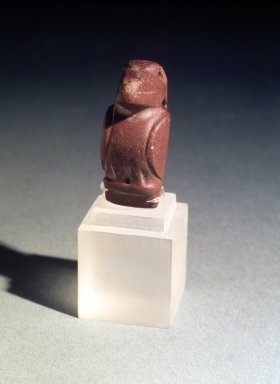 Milagro Phase. <em>Amulet</em>, 500-1500 C.E. Stone, 1 1/2 x 3 x 5/8 in. (3.8 x 7.6 x 1.6 cm). Brooklyn Museum, Gift of Mr. and Mrs. Tessim Zorach, 88.57.6. Creative Commons-BY (Photo: Brooklyn Museum, 88.57.6.jpg)